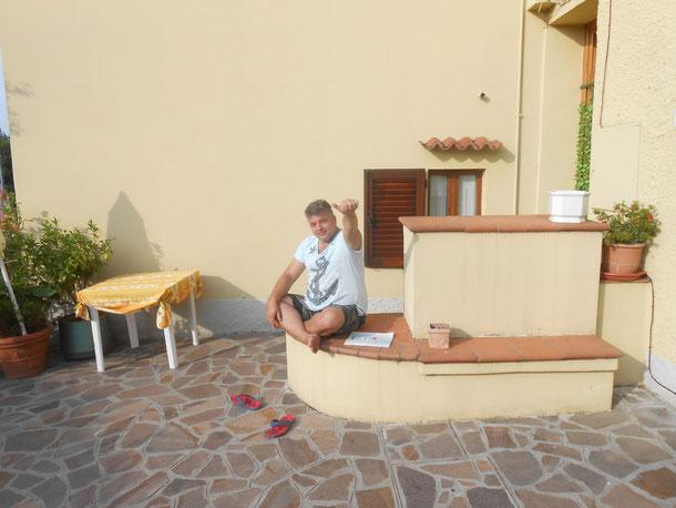 30 Giugno 2015 - Gita all'Isola D'Elba - Un saluto ad una persona gentile