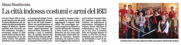 Articolo La Stampa del 7-05-2013