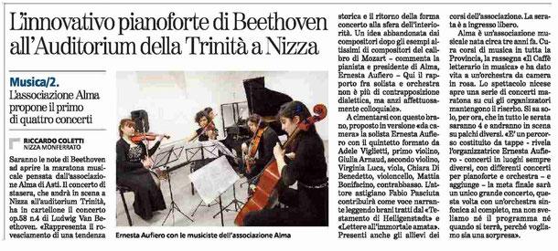 Articolo La Stampa del 28-11-2014