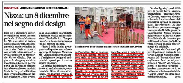 Articolo La Stampa del 5 dicembre 2014