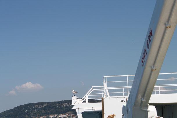 Auf der Fähre nach Split.