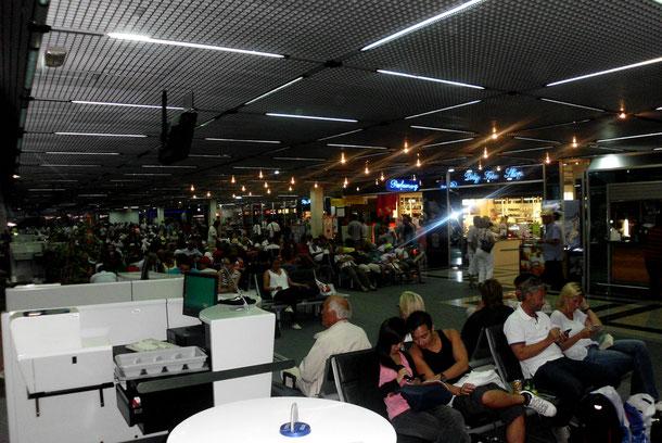 Flughafen Split.