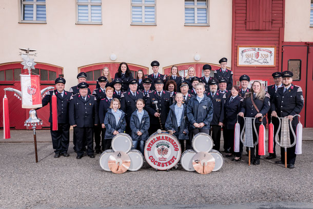 Spielmannszug der Freiwilligen Feuerwehr Cochstedt 2008