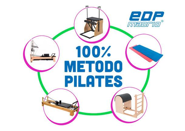 100% método Pilates en EDPmadrid