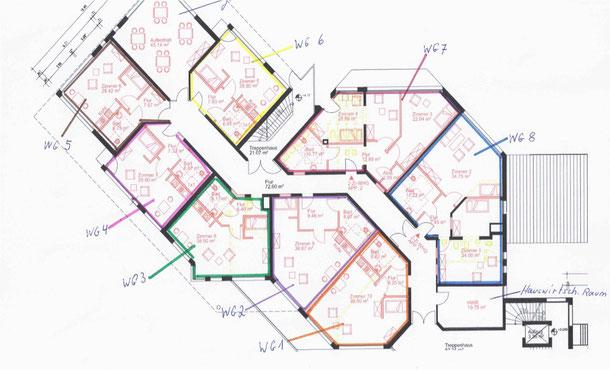 Plan Wohnpark Grebin