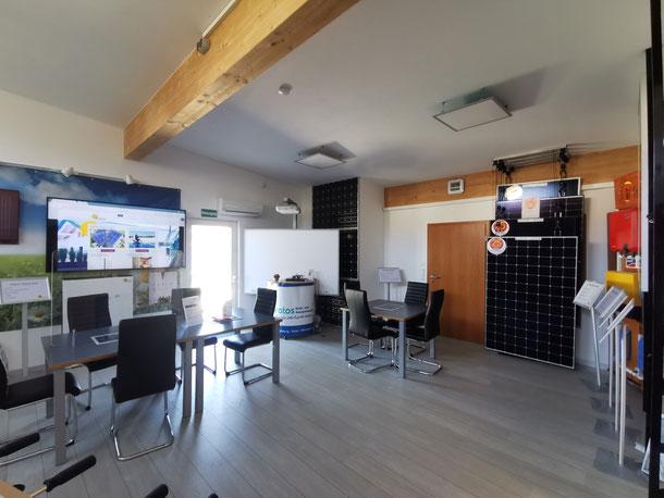 iKratos Ausstellungsraum auf dem Firmengelände in Weißenohe © iKratos