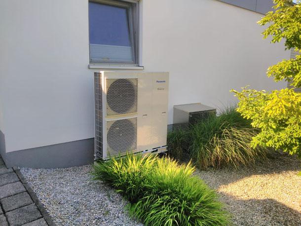 Bild: Wärmepumpe installiert von iKratos