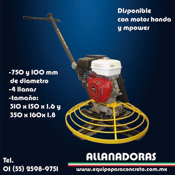 ALLANADORAS DE CONCRETO