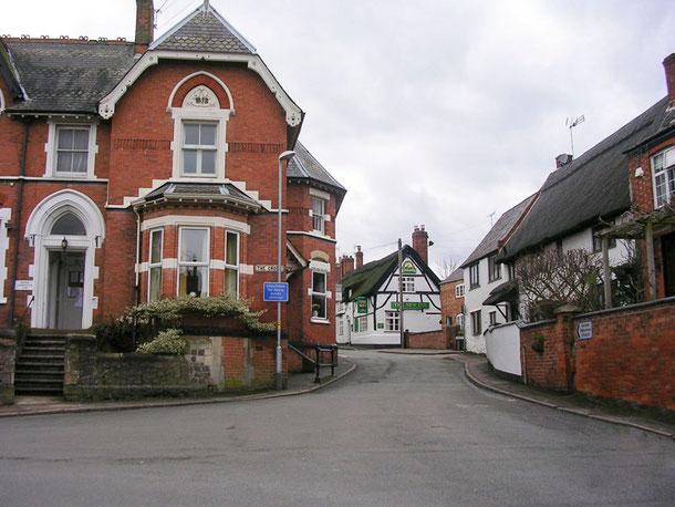 Calles del bellísimo pueblo de Enderby, muy cerca de la capital del Este de las Midlands Leicester