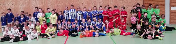 Die F-Jugend Mannschaften