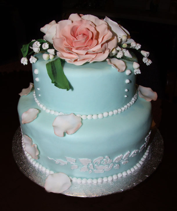 weddding cake rose-torte eleganti-la spezia-liguria-torte matrimonio