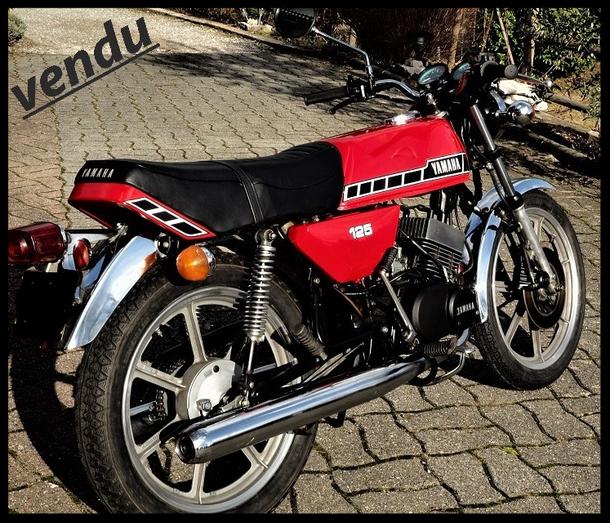 vente yamaha 125 rdx moto vintage a vendre restauration 125 rdx parabellum motorcycle moto. Black Bedroom Furniture Sets. Home Design Ideas
