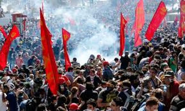 Gezi-park revolten, sommeren 2013