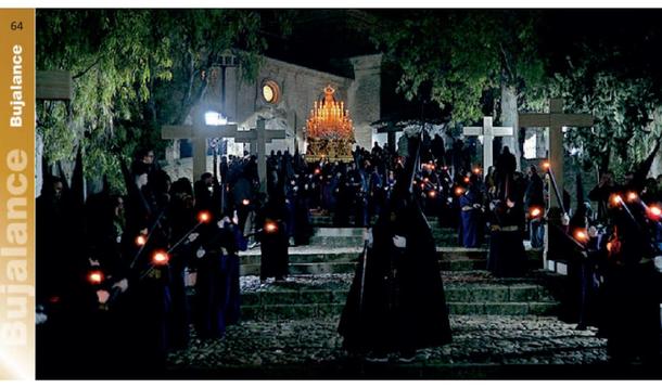 Procesiones Horarios e Itinerarios de la Semana Santa de Bujalance