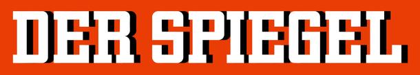 Logo des Wochenmagazins DER SPIEGEL, gegründet und herausgegeben von Rudolf Augstein
