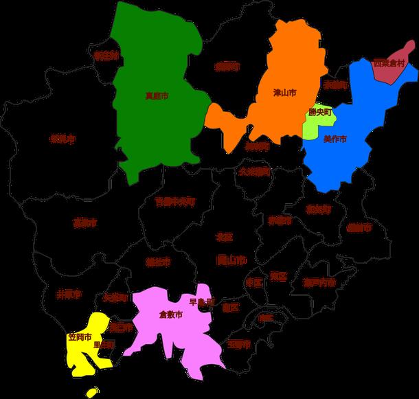 北西部マップ