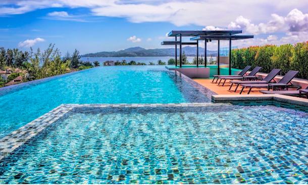 Квартира на Airbnb с бассейном на крыше