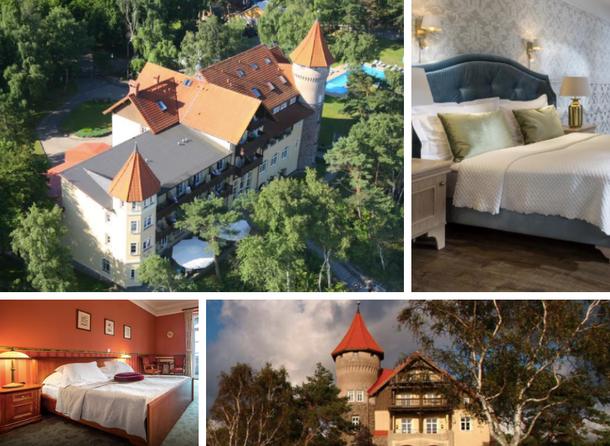 Замок-отель в Польше на Балтийском море