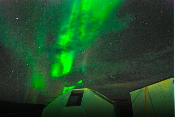 Необычный отель-домик в Исландии