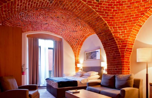Неординарный отель во Вроцлаве, Польша - средневековое зернохранилище