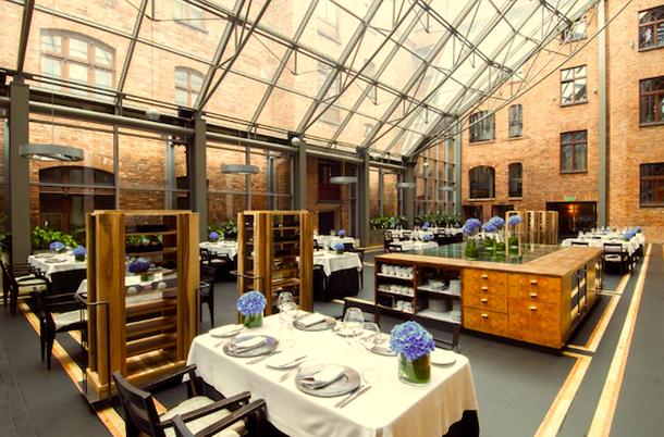 Ресторан в отеле Monopol Katowice