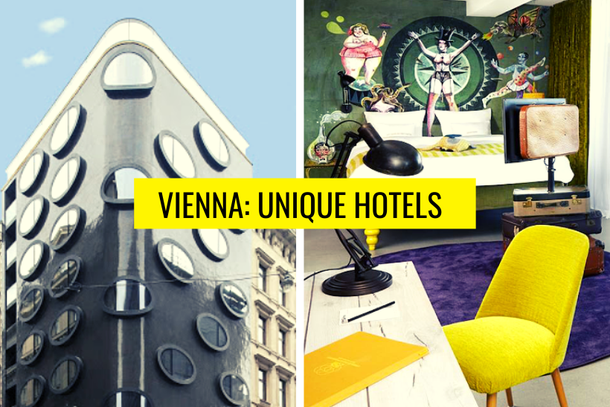 Vienna unusual and unique hotels