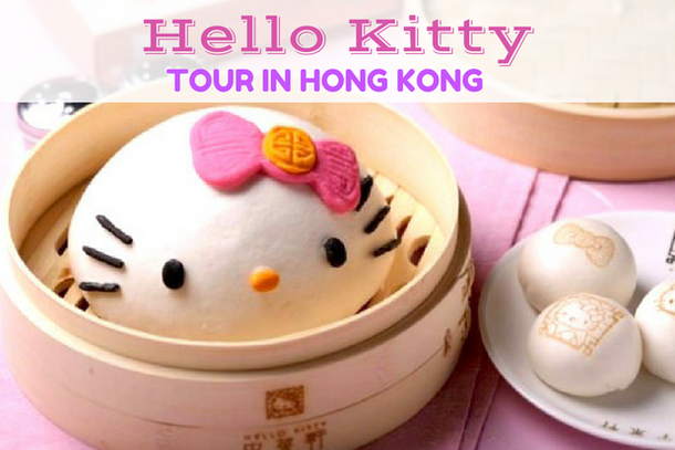 Hello Kitty tour in Hong Kong: Hello Kitty restaurant review, Hello Kitty shops