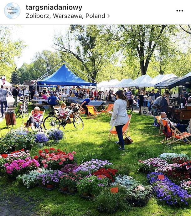 Targ Sniadaniowy Zoliborz, Warsaw