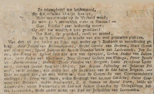 Goudasche courant 01-03-1797