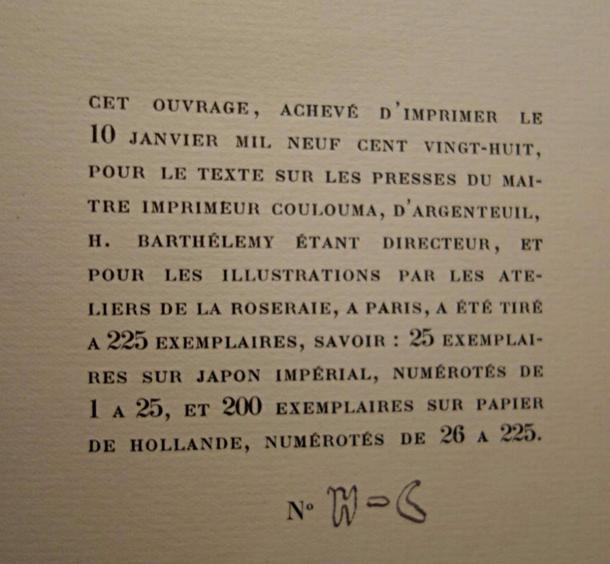 Paul-Jean Toulet, La Jeune Fille verte, livre rare