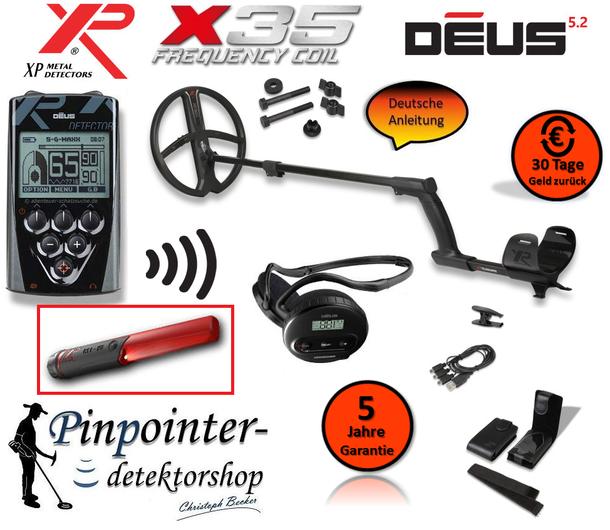 XP Deus X35 28 Vorteilspreis mit MI6 Pinpointer