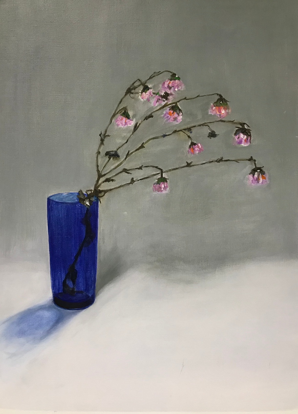 Still life, Oil on paper / 42 x 29,7 cm ( 114 )