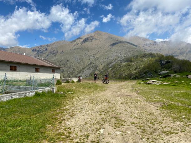 raggiunta l'Alpe della Cialma
