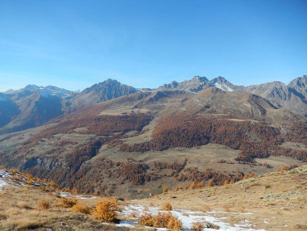 Oltre il colle la Val San Bartelemy