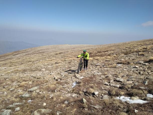 E poi  850 metri di dsl di  spintage e portage