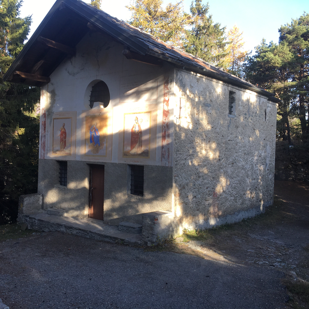 la chiesetta di San Pantaleon