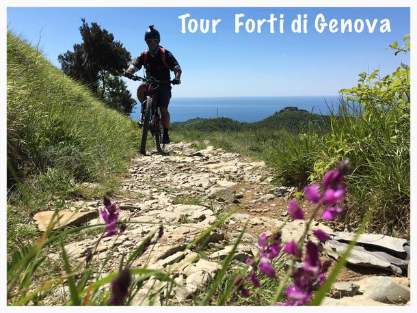 valore eccezionale volume grande nuove immagini di Tour dei Forti di Genova - RidersMTB