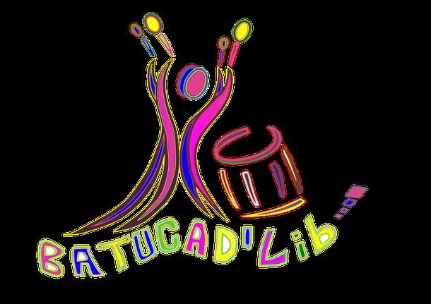 Batucad'Lib a deux logos officiels. Voici la deuxième version.