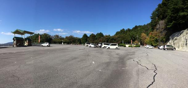 鳳来寺山パークウェイ山頂駐車場