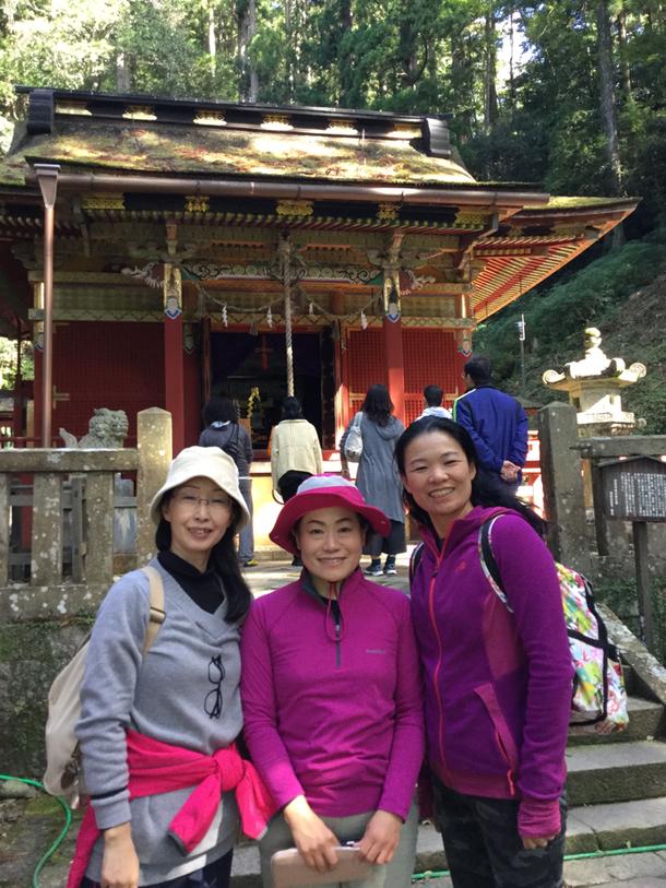 山ガール?3人と一緒に鳳来寺山周遊登山にチャレンジ