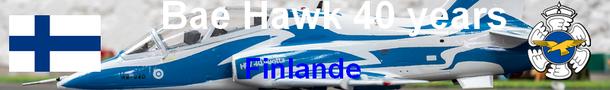 FAF Bae Hawk 40 years  Suomen ilmavoimat maquette 1/72