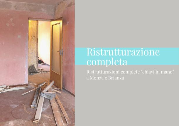 Ristrutturazione completa a Monza e Brianza. GA termoidraulica di Antonino Giambò