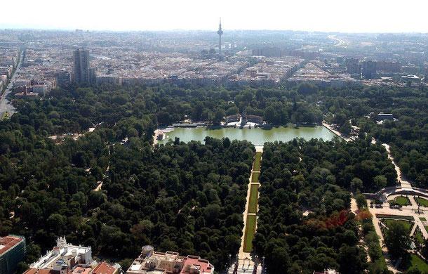 park retiro v madride