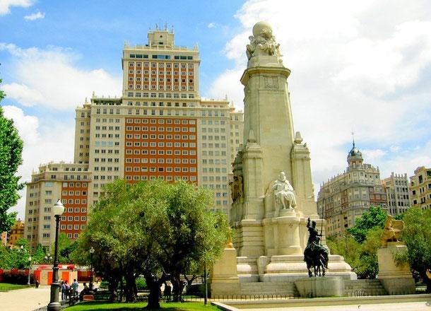 ploschad ispanii v madride