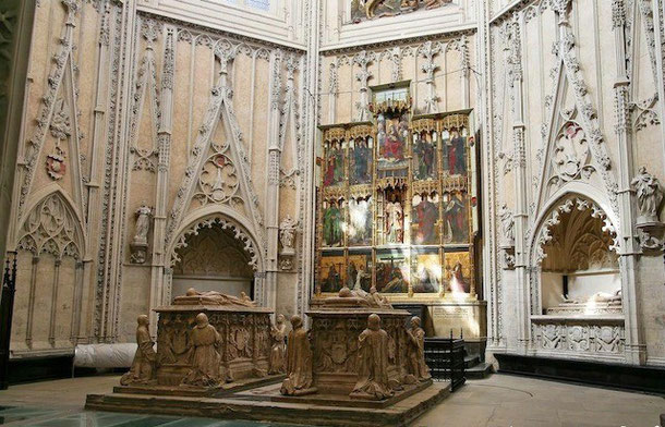 Капелла Сантьяго. Кафедральный собор в Толедо