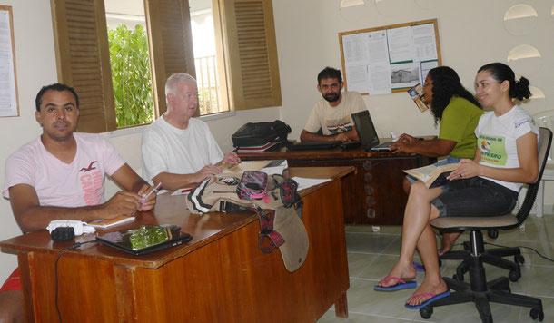 Gespräche mit Jossean Alves (genannt Pretinho), Antonio Cleide, Socorro Ferreira und Cecília