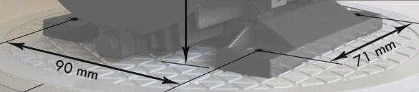 Fuß-Elektromotor, das Bild als Link zum Elektromotorenshop 4/6/12 polige B3 E-Motoren