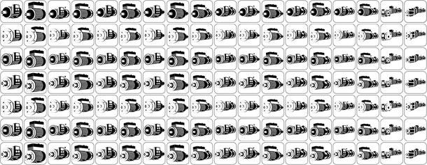Frequenzumrichter E Motoren und Getriebe mit Anbauten Fremdlüfter Inc-geber Bremse