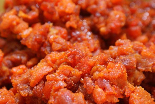 天たつの国産粒うには薄塩でしっかりと水分を抜き、濃厚な甘みと旨味を持つ、8月の20日間だけ販売します特別なウニです