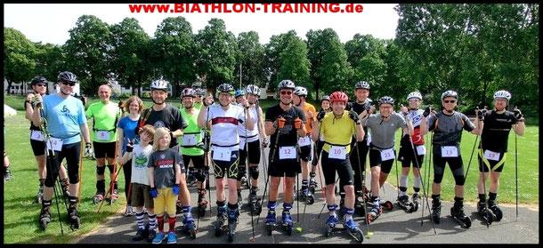 moderner Biathlon in Köln vermieten Verleih Camp